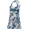 Patagonia W's Iliana Halter Dress Palm Spring Dress: Leaden Blue